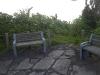 尾山展望台公園からの脇道