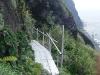 仮設っぽい橋