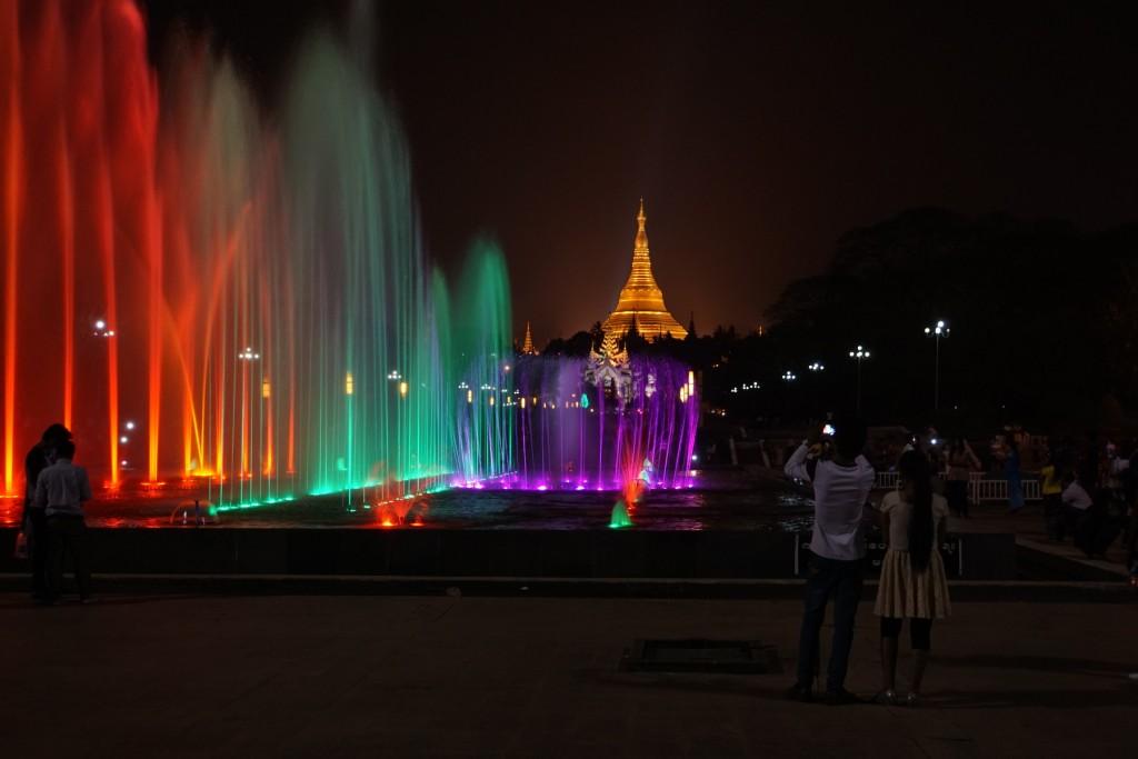 人民公園の噴水