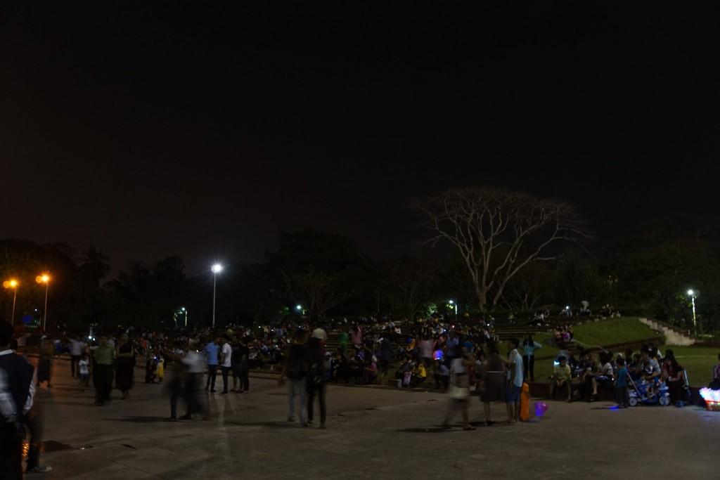 夜の人民公園のギャラリー
